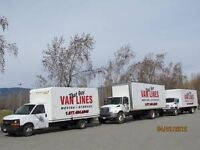 $599 EMPTY MOVING TRUCK GOING WEEKLY TO ALBERTA or BC
