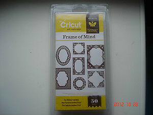 Cricut FRAME OF MIND cartridge - $35