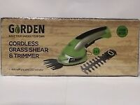 Premium Cordless 2-In-1 Grass Shrubs & Hedge Trimmer And Cutter Battery Operated