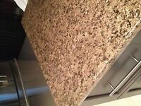 Large piece of countertop 72x36, fits an island