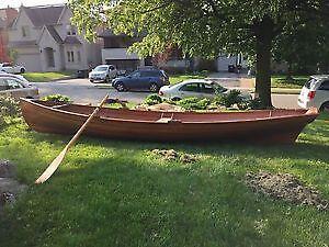 Custom Built Wood Sailboat