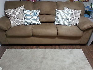 Like New Microfiber Couch London Ontario image 1