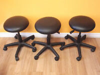 HORIZON SHOPTECH MEDICAL/INDUSTRIAL ADJ STOOLS - AS NEW