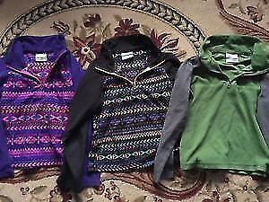 Boy's and girl's Columbia sweaters size 7/8. AVAILABLE