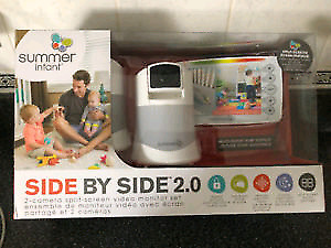 Like new summer Infant 2 camera baby monitor system!!