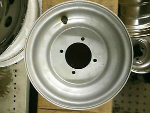 Silver ATV Wheel, 8x5.5, 4 Bolt, One Wheel for Chinese Quad