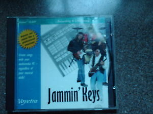 record  music   Jamming  Keys  software/ Maxell cassette tapes