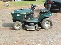 WANTING RIDING LAWNMOWER