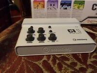 Audio interface for recording