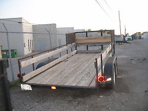 ramp etc selling 2 other trailers pics below  trades offers London Ontario image 6