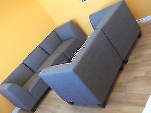 SPECIAL! 5 PC MODULAR GREY COUCH & LOVESEAT - USED 3 WEEK London Ontario image 10