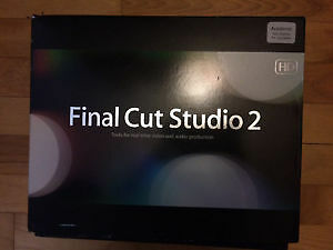 Final Cut Pro Studio 2 - professional editing software