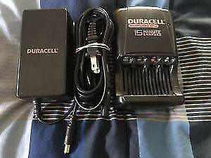 Duracell 15 minute battery charger AA AAA rechargeable