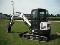 Bobcat & Mini Excavators