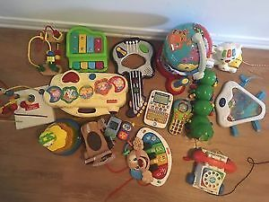 A Huge lot of First years Toys .AVAILABLE