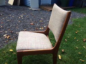 Recherche 6 chaises en teck