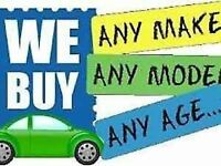 scrap broken or mot failure damaged written off we pay the best prices give us a call