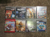PS3 Games (Sold Separately)
