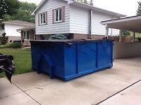 Bin rental and junk removal services