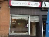 Fitted beauty shop Keppochhill Road, Springburn Available Now