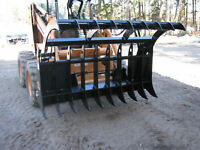 HEAVY DUTY BOBCAT SKID STEER GRAPPLE