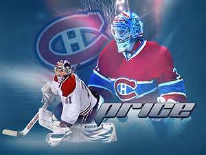 Montreal Canadien pair of ticket in the white section