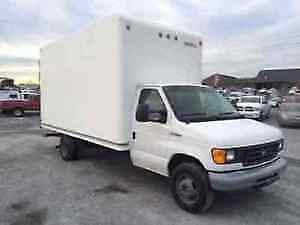 2003 Ford E-Series Van Cube Van MECHANIC SPECIAL BUY AND TOW!!