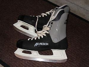 skates laser molded boot skates, size 10