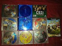 25 jeux de PC/DVD et un jeu de gamecube !