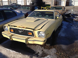 1978 mustang II complete rolling chassis