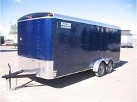 2014 TNT transit cargo trailer 7'X18'
