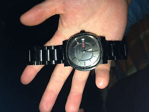 Black Wittnauer watch