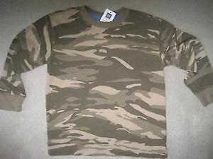 BRAND NEW GAP CAMOUFLAGE SHIRT SIZE S 6/7