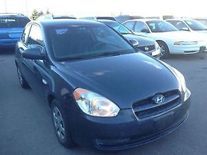 2007 Hyundai Accent GS Hatchback- Low mielage , well-mainatained
