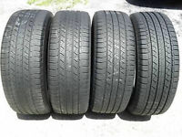 255/60R17 set of 4 Michelin Used (inst.bal.incl) 80% tread left