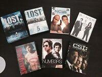 Seasons, Sets & Single DVD's