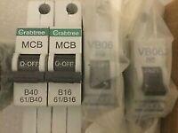 MCB's 4 Unused.
