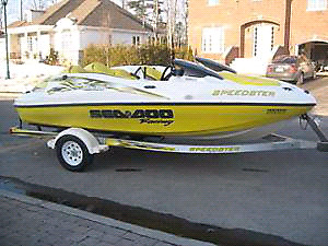 Speedster seadoo 2000 parts out