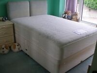 FREE - Double Divan Bed - needs to be collected as soon as possible.
