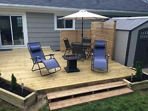 POST HOLE DIGGER SERVICES & FENCE ,SHED , DECK BUILDERS St. John's Newfoundland image 6