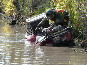 Rent an ATV Quad from Pioneer Offroad Rentals Bonnyville Today