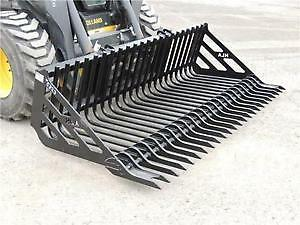 SKID STEER AND TRACTOR ROCK BUCKETS