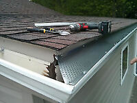 STRICTY EVESTROUGH  AND GUTTER GUARDS