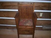 Wooden Period Chair