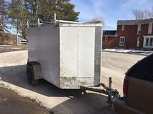 V-NOSE 5X8 ENCLOSED W/ownership 2012