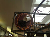 Cafe Depot  for sale in shopping mall. Great location.
