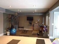 CUSTOMIZE YOUR YOUR WORKOUT AREA!!!