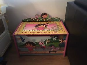Dora the explorer toys storage box. AVAILABLE