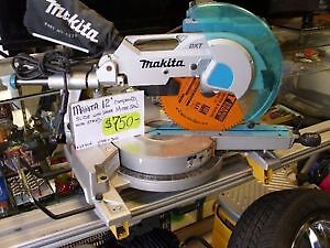 """MAKITA 12"""" SLIDING MITRE WITH STAND"""