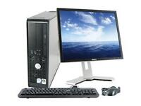 "Wireless Dell PC,C2D 2GHz/3G/80G+Dell 19"" LCD+Keybrd,Mouse"